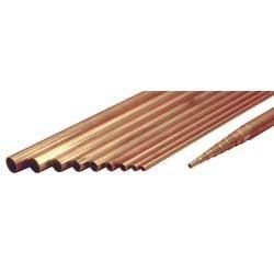 Brass tubing ø 9,1x10 mm. - length 1000 mm.