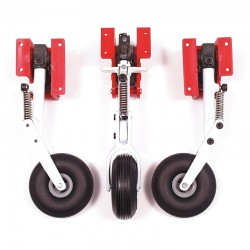 Set of three Spring Retracts with Steerable Noseleg
