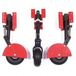 Set of three Spring Retracts with Steerable Telescopic Noseleg