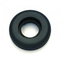 Gomma ø mm.80, Ricambio per Ruote con Cerchio Alluminio/Nylon