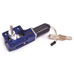 Carrello Retrattile Elettrico Grosso orientabile (colore blu, Flying Fox)
