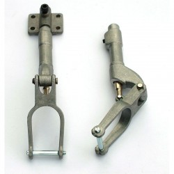 Fixed Telescopic Noseleg with bearing Block, 120 mm.