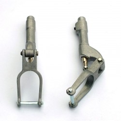 Set of Two Sprung Telescopic Legs, 120 mm.