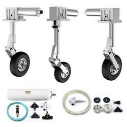 Kit carrelli ad aria per Xcalibur+ (freni ad aria)