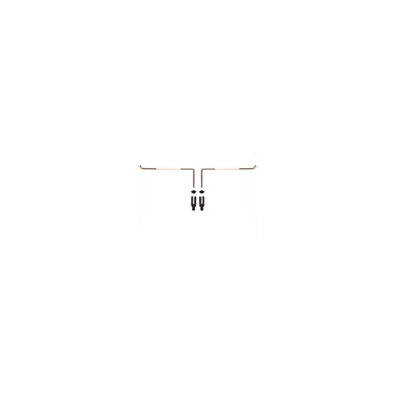 Pair of Aileron Control Levers with Control Sleeve  length mm  100 -  EurokitShop